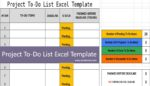 Project To-Do List Excel Template